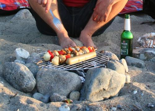 Grillspieße vor 3 Jahren an der Ostsee