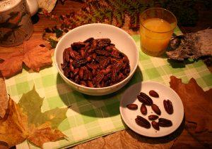 Gebrannte Orangen-Nüsse
