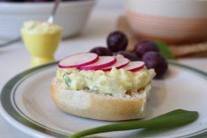 Eiersalat, selbstgemacht und vegan