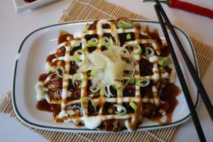 Okonomiyaki – die 'wie Du willst'-Pfannkuchen