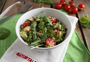 CousCous-Salat mit grünem Spargel und Veta