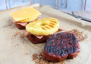 Burger Hawaii - Zubereitung