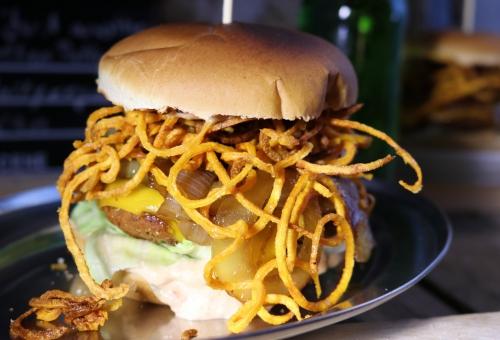 Just another Seitan Patty Burger...