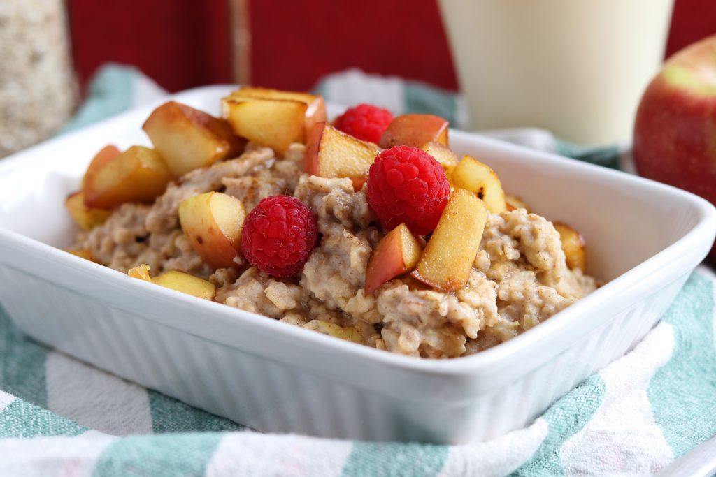 Apfel-Zimt-Porridge