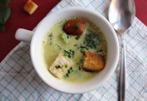 Brokkoli-Curry-Creme-Suppe