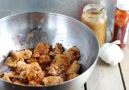 Grillspieße - Zubereitung