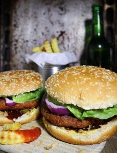 Vegane Hamburger