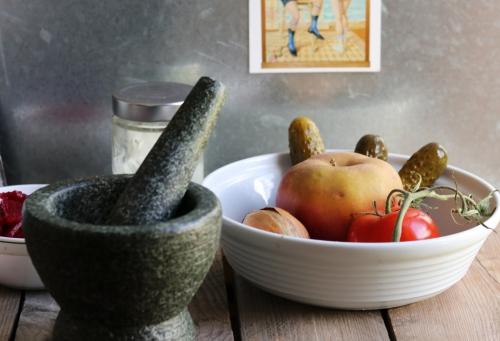 Veganer Nordseesalat - Zubereitung