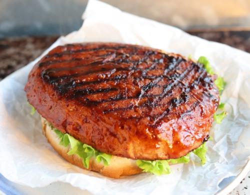 Vegan Mad Rib Burger - Zubereitung