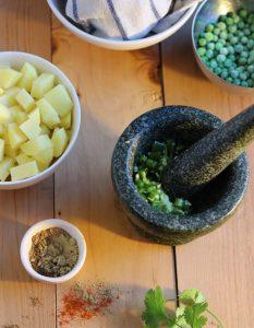 Samosas - Zubereitung