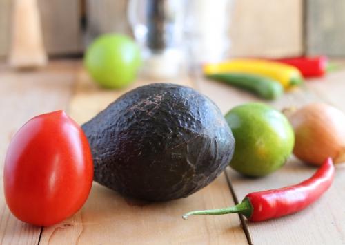Guacamole- Zubereitung