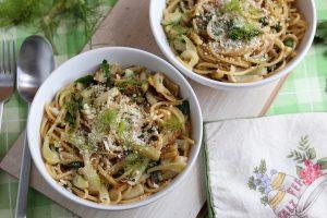 Fenchel Spaghetti