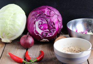 Zubereitung Coleslaw