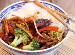 Chop  Suey - veganisiert mit Mock Chicken