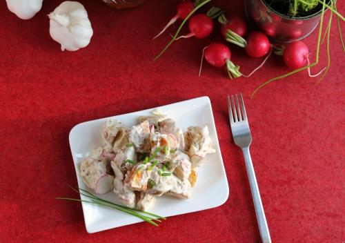 Gerösteter Kartoffelsalat