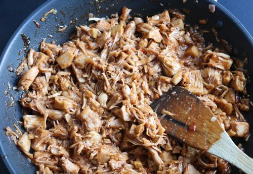Fertiges Pulled Pork