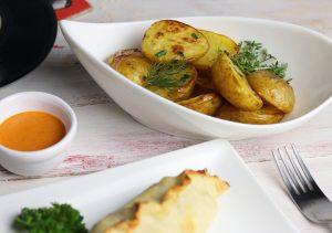 Salt and Vinegar Ofenkartoffeln
