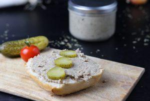 Vegane Leberwurst, grob oder fein