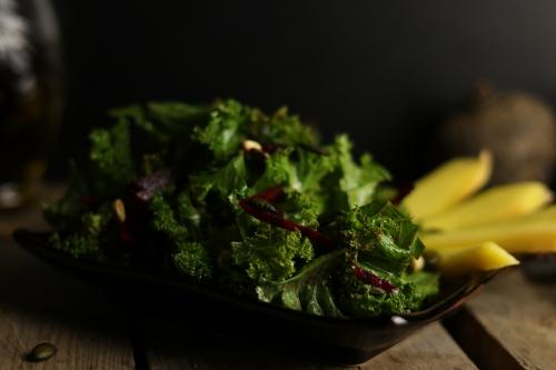 Grünkohlsalat
