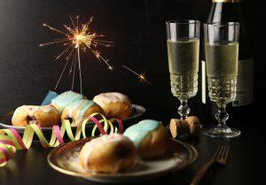 Berliner Pfannkuchen - frisch zu Silvester