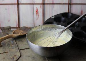 Teig für die Yorkshire Puddings
