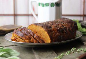 Frisch angeschnittener Roast