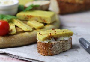 Veganer Käse mit Chili