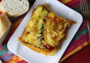 Italienische Auberginen-Lasagne