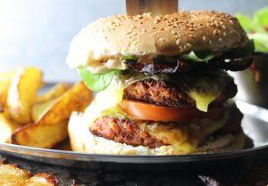 Double Ham'n'Cheese Burger