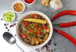 Miến Gà - Vietnamesische Hühnchen- und Glasnudelsuppe