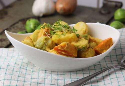 Winterliche Kartoffel-Gemüse-Pfanne