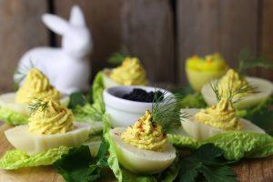 Gefüllte Eier - vegan und selbstgemacht