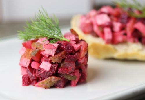 Veganer Heringsalat