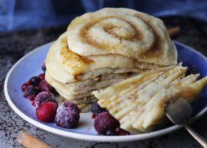 Zimtkreisel Pancakes