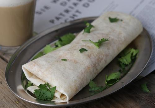 Egg and Cheese Breakfast Burrito