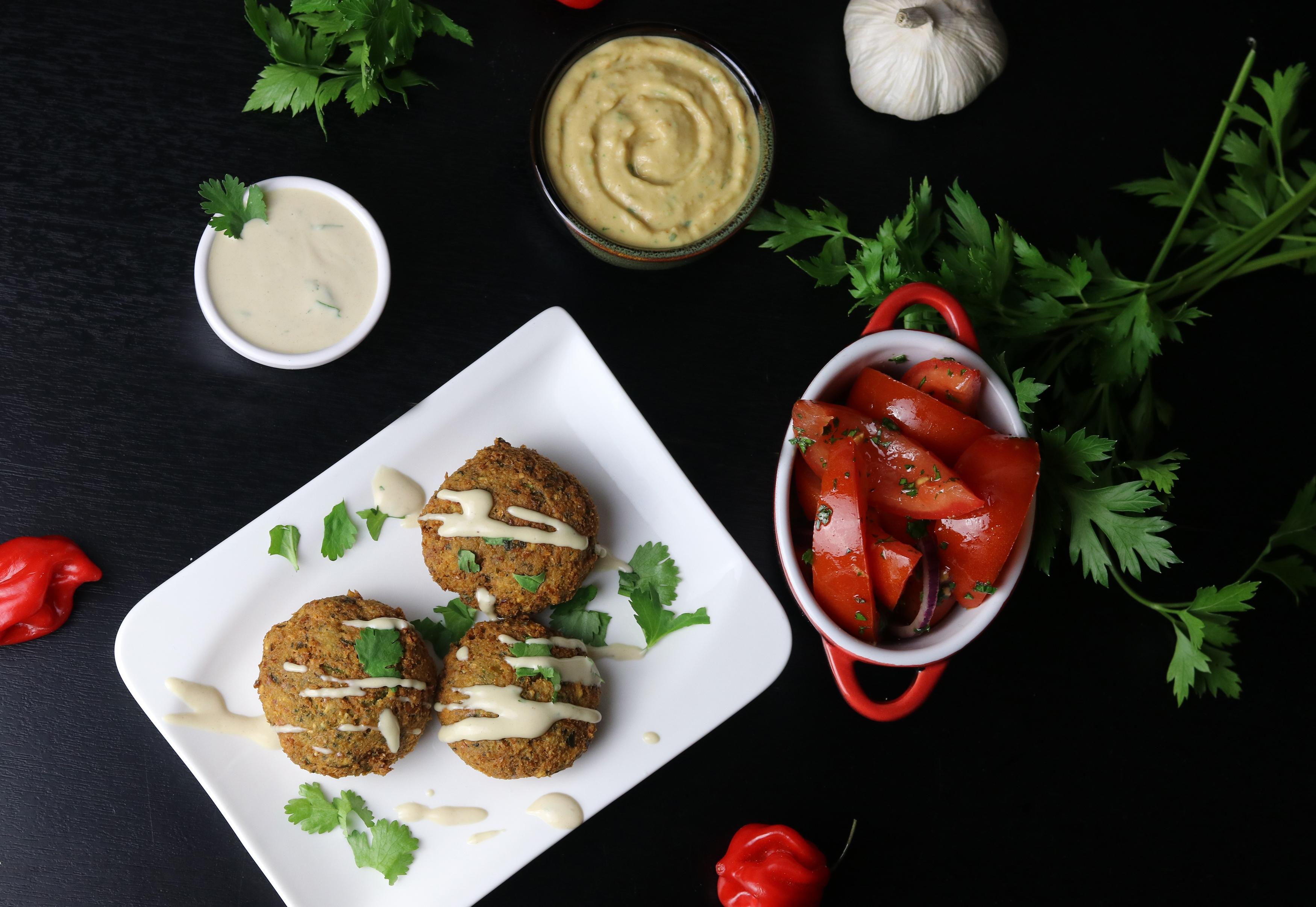 Falafel-Teller