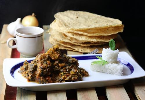 Indisches Chicken Saag