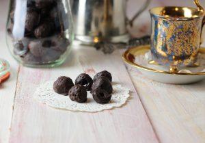 Schoko Himbeeren – feine vegane Süßigkeit