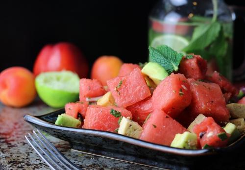 Veta-Wassermelonensalat