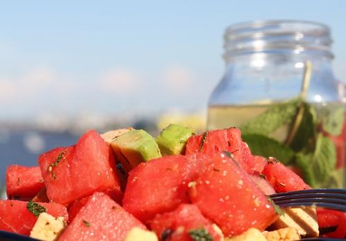 Salat und Sonne