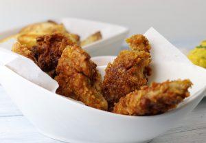 Knackige Cornflakes Panade