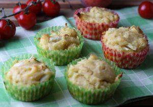 Lauch-Käse-Muffins - veganes Rezept