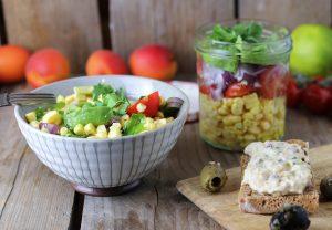Sommerlicher Maissalat