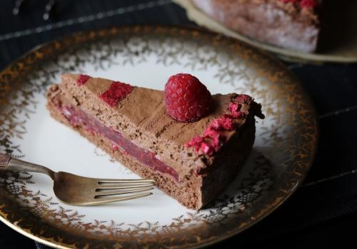 Himbeer und Schokolade - ein Traum!
