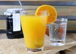 Orangen-Ingwer-Tee
