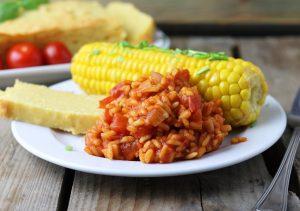 Roter mexikanischer Reis