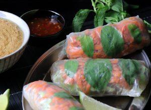 Mit feinem Thai-Basilikum