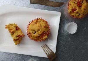 Tomaten-Räuchertofu-Muffins