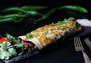 Chicken Enchiladas - vegan mit Seitan