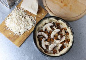 Käse, Pilze, Corizo
